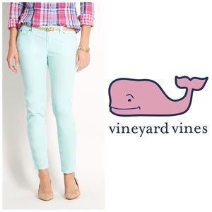 Vineyard Vines Turquoise Skinny Ankle Jeans 👖